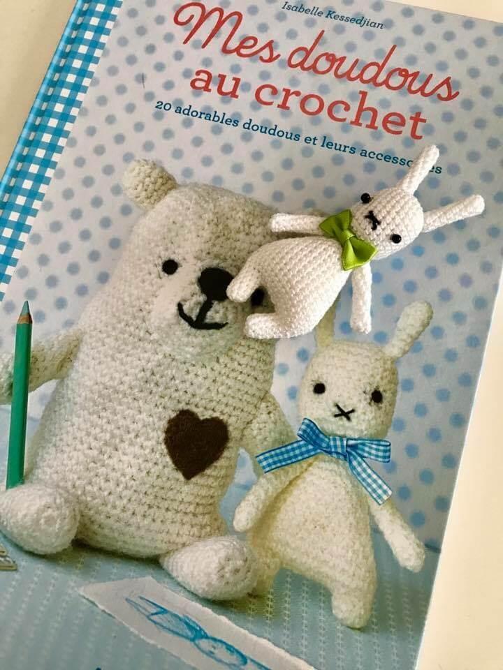 Mes Doudous Au Crochet Livre Pakerette Shop